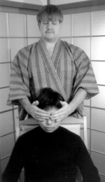 Reiki Hand Positions For Treating A Client In A Sitting
